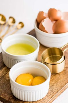 40+ Egg Yolk Recipes to use up leftover egg yolks and