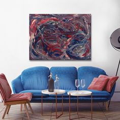Ready2HangArt 'Intermingled' Canvas Wall Décor by Max+E