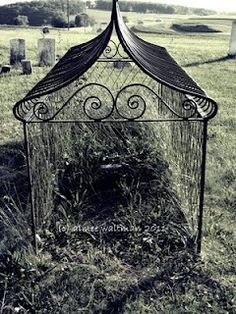 Victorian Caged Graves