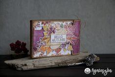 Jesienny album- inspiracja dla P13 Paper Products. #album #handmade #papercraft #ręcznierobione #rękodzieło Palms