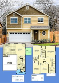 Architectural Designs Craftsman House Plan 737011LVL gives you 4 beds, 3 baths and over 1,700 square feet of heated living space. Ready when you are. Where do YOU want to build? #737011lvl #adhouseplans #architecturaldesigns #houseplan #architecture #newhome #newconstruction #newhouse #homedesign #dreamhome #dreamhouse #homeplan #architecture #architect #craftsmanhouse #craftsmanplan #craftsmanhome #northwest #tradtional