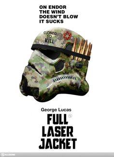 star wars based on the poster artwork for stanley kubrick s full