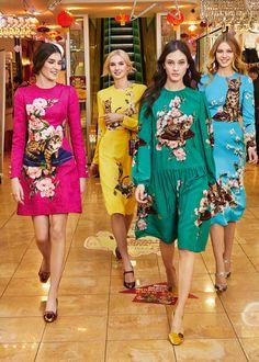 Dolce & Gabbana Collezione Donna Autunno Inverno 2017-18:   Dolce & Gabbana