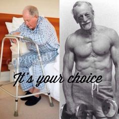 Not everyone has the choice to be healthy- like those of us with chronic illnesses. But we can try our best!!