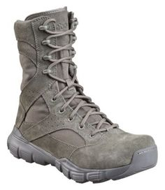 Reebok® Dauntless Extreme Terrain 8'' Side Zip Safety Toe Tactical Boots for Men - Sage Green
