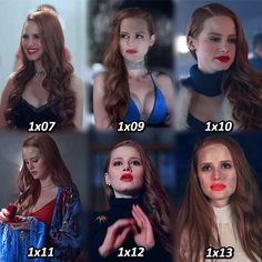 """[cheryl blossom in season one] should i do this with the other characters? comment """"❤️"""" if you love cheryl or comment """""""" if you don't!"""