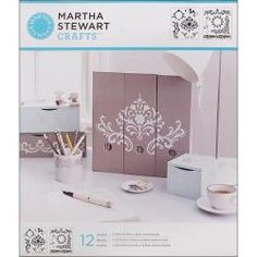 @Overstock - These stencils are ideal for adding painted designs to any project, and feature 12 flourish designs.  http://www.overstock.com/Crafts-Sewing/Martha-Stewart-Flourish-Medium-Stencils-Pack-of-2/6525196/product.html?CID=214117 $10.98