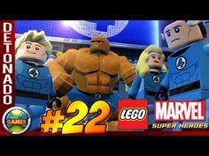 LEGO Marvel Super Heroes Parte #22 Doutor em Casa - Walkthrough