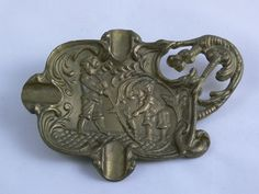 Ashtray  Brass  Dragon  Pipe lighting  Tobacciana  by MasterGreig,