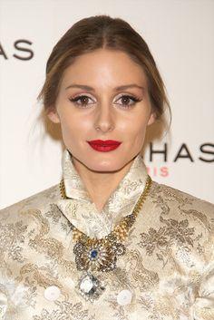 Olivia Palermo #lábiosvermelhos #makeupperfect