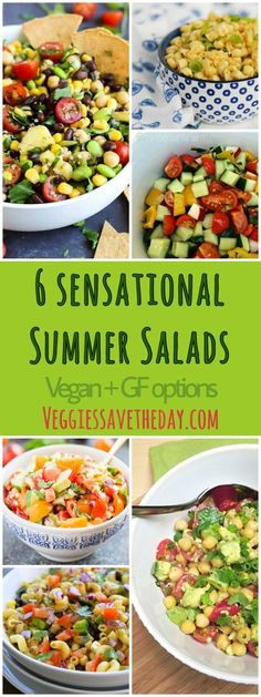 6 Sensational Summer Salads