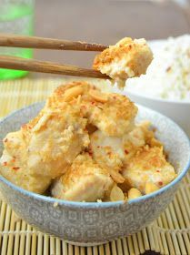 16 delicious recipes of Chinese food that you can make in ca .- Pollo satay, a typical Asian chicken dish marinated in a sweet-spicy peanut and coconut sauce Asian Recipes, Healthy Recipes, Ethnic Recipes, Delicious Recipes, Pollo Satay, China Food, Japanese Dishes, Exotic Food, Morning Food