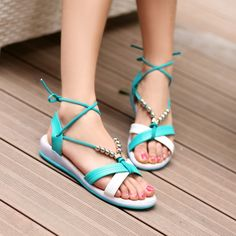 2014 summer new fashion beaded bohemian Roma women s Sandals a81c019746c2
