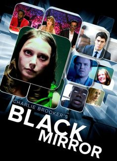 Black Mirror by Charlie Brooker is a British TV show that allows a deeper reflection on our relationship with media and new technologies. A must watch. Black Mirror 1, Mirror Tv, The Wolf Among Us, Illuminati, Movies Showing, Movies And Tv Shows, Satire, Series Movies, Tv Series