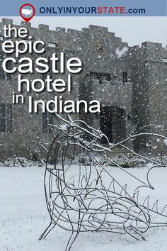 Is there anything more magical than the thought of staying overnight in a majestic castle? At this castle in Indiana, you can do just that. Vacation Places, Vacation Trips, Vacation Spots, Places To Travel, Couples Vacation, Greece Vacation, Vacation Ideas, Travel Destinations, Weekend Trips