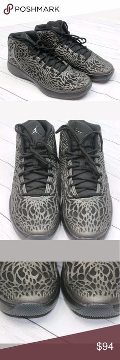 27d69ffa7cfcd fly Black Metallic Hematite Grey Zoom SiZe 11 New without box Jordan Shoes  Sneakers