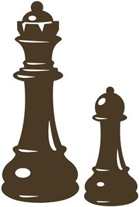 chess pieces------------------------I think I'm in love with this shape from the Silhouette Online Store!