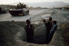"""['War' by Steve McCurry]: """"Kuwait"""" [Kuwait War]"""