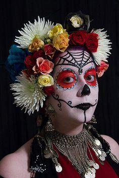 La Calavera de la Catrina by exoskeletoncabaret, via Flickr