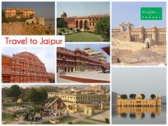 Travel to Jaipur and explore the royal city.