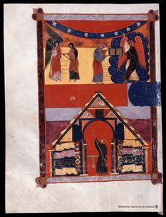 Beato de Liébana. Beato de Liébana , Santo — Manuscrito — 1047 353