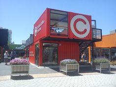 18 Incríveis Cafeterias em Containers
