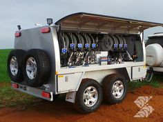 Work Trailer, Trailer Diy, Utility Trailer, Caravan Van, Emergency Equipment, Oil Service, Drilling Rig, Truck Design, Trailers For Sale