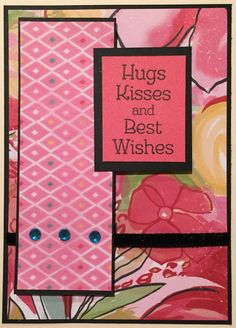 Paper Crafter Anonymous: Feminine Birthday Card