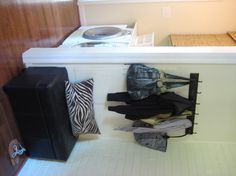 Making a mudroom wit