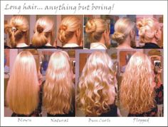 Long hair styles - Click image to find more hair & beauty Pinterest pins