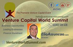 Venture Capital World Summit, Elio Assuncao