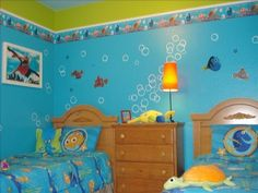 Ready2hangart Abstract Spa Gallery Wred Canvas Decals Sticks And Finding Nemo