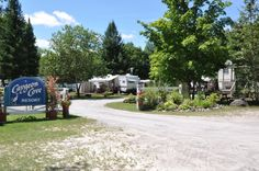 Caygeon Cove Bobcaygeon #Ontario has cottages & trailers Love #fishing? Ask Port Perry Bassmasters about it . They have their annual tournament here!