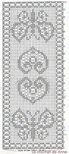 crochet filet pattern