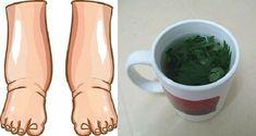 Este potente té casero curará las piernas hinchadas en pocos días - ConsejosdeSalud.info
