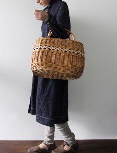 [Envelope Online Shop] A willow basket from Latvia Lisette Select