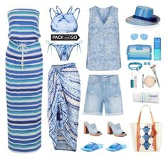 """""""Pack and Go: Mexico City"""" by musicfriend1 ❤ liked on Polyvore featuring PilyQ, Hot Anatomy, Accessorize, George, American Vintage, Revo, YOSUZI, Natura Bissé, Vera Bradley and It Cosmetics"""