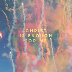 #Hillsong Live: Christ is enough for me