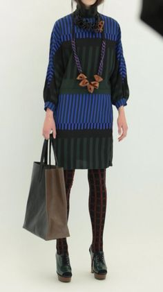 marni FROM FALL 2011 Own Dress, Socks, & Bag like this one but in Men's version.