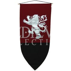 Rampant Lion Banner - ED603 by Medieval Collectibles