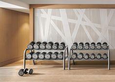 #Larvotto La salle de Fitness, les haltères #monaco #technogym #fitness by odeonspasisley from #Montecarlo #Monaco
