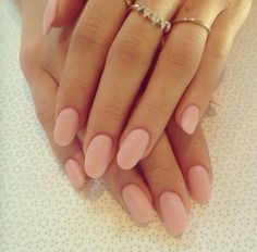 These elegant matte baby pink nails are an amazing style for this spring and all season around because it still has that edgy look!