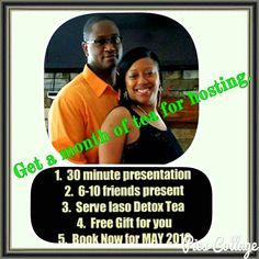 """Don't miss out on May's offer. Another person said yes to hosting an event, """"snatching"""" her good health back, and will be entered in for a free 7 day vacation (when she qualifies).     Who's next? We still have a few days left in May that are available. Email me at info@iamonpurpose.org or private message me.  #hostingissomuchfun #youcantbeatafree7dayvacation #whoelseissnatchingtheirgoodhealth #keepGodfirst #iamonpurpose #jatashaharris #tlc www.iamonpurpose.org"""