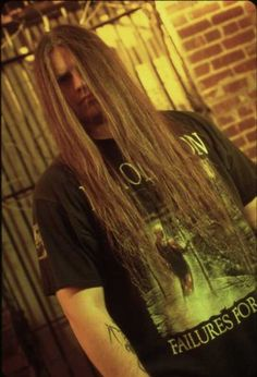 """george """"corpsegrinder"""" fisher.. this man is everything to me when it comes to death metal. he dedicated a song to me once. all hail the mighty corpsegrinder!"""