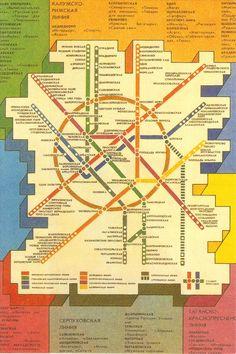 Moscow Underground Map