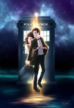 """11 Gorgeous, Poignant Pieces Of Doctor Who Fan Art. """"In case you weren't already having enough feelings about Matt Smith leaving Doctor Who."""""""