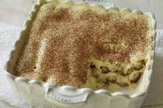 This authentic Italian tiramisu is the perfect make-ahead dessert. It's boozy and creamy and lightened a bit with egg whites to give it an airy texture. Make Ahead Desserts, No Cook Desserts, Dessert Recipes, Italian Tiramisu, Dessert Glasses, Trifle Dish, Cake Cookies, Sweet Tooth, Gastronomia