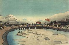 < 서울의 혼례행렬 >, 엘리자베스 키스, 1921.