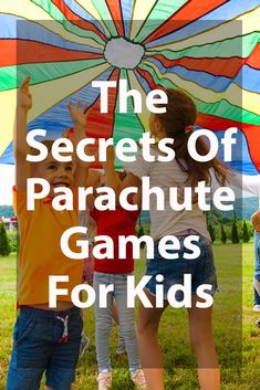 13 Best Parachute Games for Kids to Play 2019 [Images and Examples!] Parachute Games For Kids – What You Need To Know Parachute Games For Kids, Fun Games For Kids, Games For Toddlers, Parachute Songs, Preschool Music, Preschool At Home, Elementary Physical Education, Elementary Schools, Gross Motor Activities