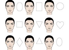 Round face shapes would certainly have a different way to contour than the oblong face types. Don't get confused, because today we would like to talk more about makeup contouring for different face shapes and types. Makeup Tips, Eye Makeup, Hair Makeup, Mascara De Marquardt, Head Shapes, Body Shapes, Oval Face Shapes, Black Hair Magazine, Diamond Face Shape